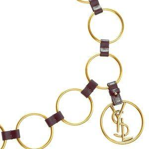 Yves Saint Laurent belt .